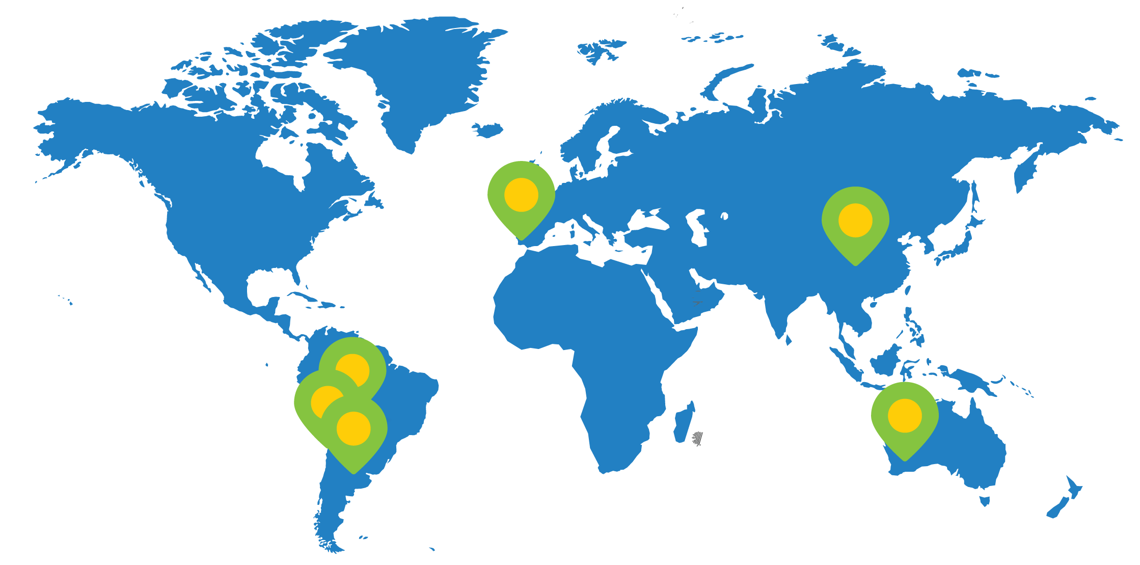 World map showing lithium mines in Australia, Chile, Argentina, Bolivia, and United States (Nevada).